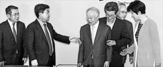 김영주 장관, 경제단체장들과 회동