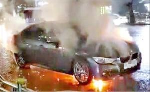 BMW 한국지사 압수수색 날, 320i 또 불났다