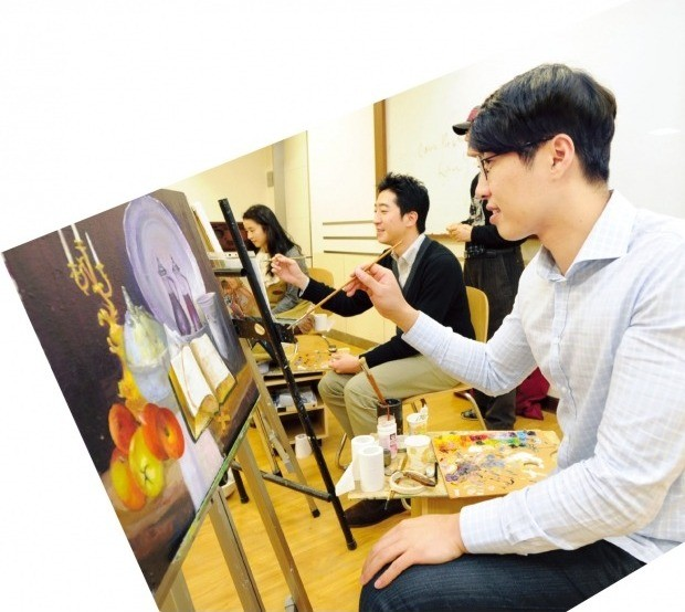 신세계백화점  그림 강좌