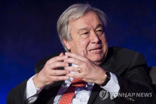 유엔사무총장, 7~9일 방일… '원폭피해' 나가사키 방문