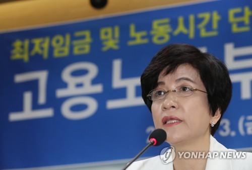 """김영주 """"최저임금 의결에 하자 없어… 현장 연착륙에 집중"""""""