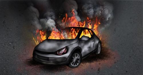 '그랜저도 불'… 호남고속도로 곡성 부근 주행 중 화재