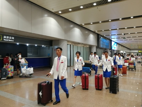 외무성 부상 등 北고위급 인사들, 베이징 도착…중국측과 접촉