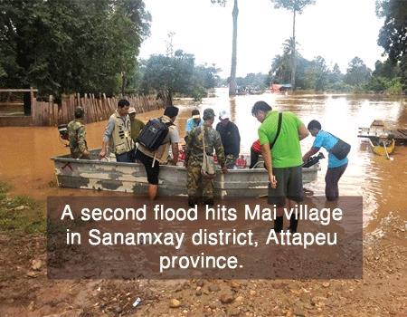 라오스 댐사고 지역에 또 홍수… 실종자 97명 수색 중단