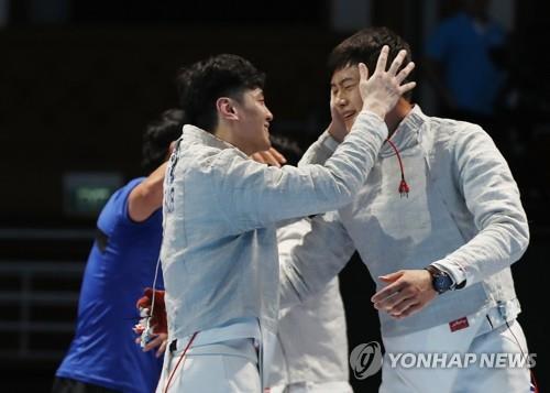 [아시안게임] '올해도 효자' 한국 펜싱, 도쿄서 올림픽 최고 성적 노린다