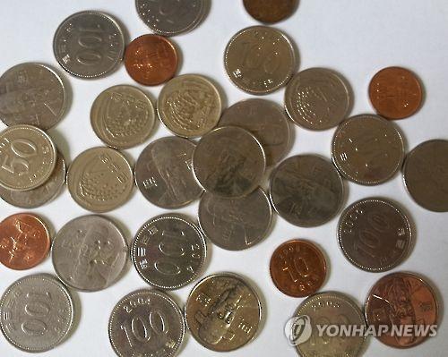 '동전 보기 어려워졌네'… 올 상반기 동전 순발행 '마이너스'