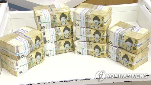 시중 5만원권 90조 돌파… 지폐 3장 중 1장꼴