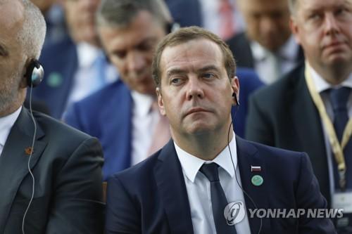 """러 메드베데프 """"조지아 나토 가입, 분쟁·재앙 초래"""" 위협"""