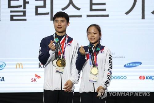[아시안게임] 김한솔·여서정 쌍두마차, 한국 체조 종합 2위로 마감