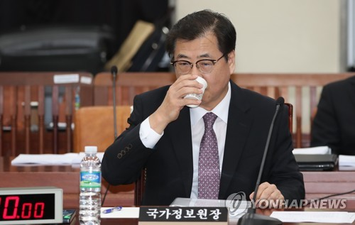"""국정원 """"北 석탄수입, 지난해 10월 靑 국가안보실에 보고"""""""