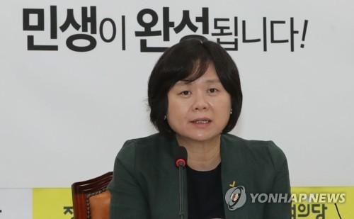 """이정미 """"오늘 본회의서 상가임대차보호법이라도 통과시켜야"""""""