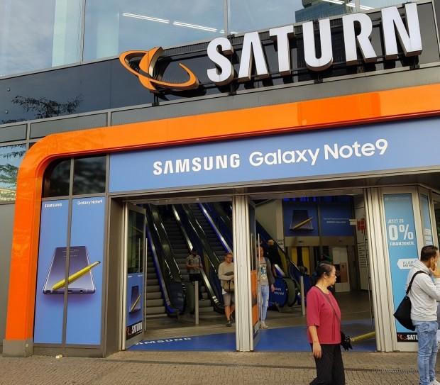 [현장+] 삼성 8K TV가 떡하니…독일 가전양판점 '자툰' 가보니