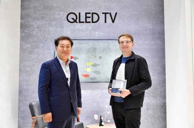 [IFA 2018] 삼성전자, 'QLED TV 매직스크린' 공모전 시상