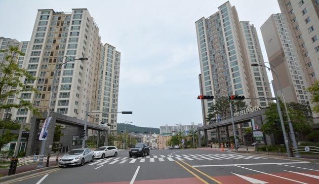 울산에서 매매가격이 가장 높은 아파트로 꼽히는 '문수로2차아이파크'. 현지 중개업소 제공