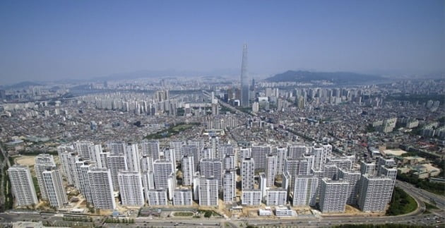 서울 가락동 가락시영을 재건축한 '송파헬리오시티'. 삼천공인 제공