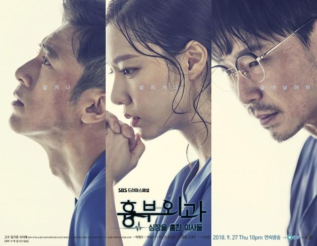 사진=SBS '흉부외과' 포스터