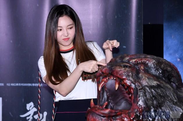[포토] 유라, '장난기 넘치는 포토타임~'