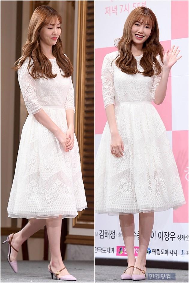 [PHOTOPIC] '결혼 후 첫 복귀작' 나혜미, '사랑스러운 미소에 눈길~'