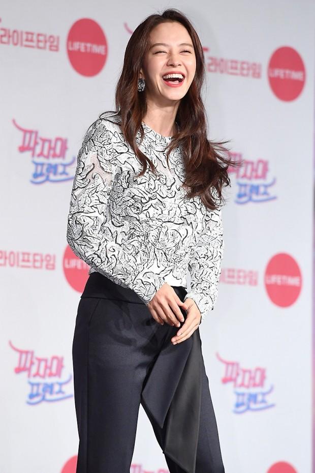 '파자마 프렌즈' 송지효  /사진=변성현 기자