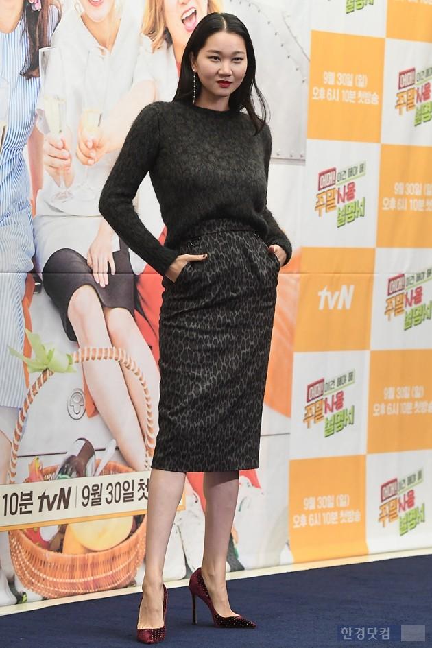 [포토] 장윤주, '눈길 사로잡는 우월한 모습'
