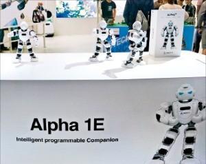 중국 유비테크로보틱스의 알파 1E 로봇