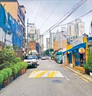 지난 7월11일 재개발조합 설립 인가를 받은 서울 동대문구 청량리8구역 주택가.  /한경DB