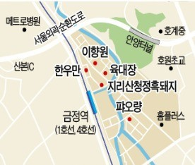 [김과장 & 이대리] LS그룹 직원들이 꼽은 금정역 맛집