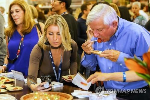 농식품부, 미국 LA서 'K푸드 페어' 개최