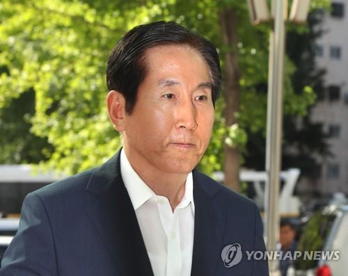 '댓글공작 지휘' 혐의 조현오 전 경찰청장 경찰 재출석