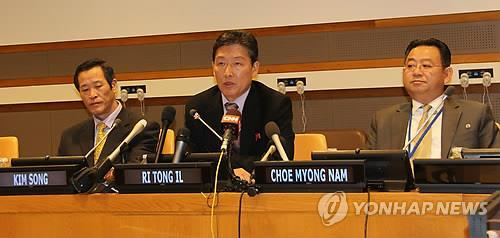 김성 유엔주재 북한대사, 유엔총회 맞춰 공식 부임