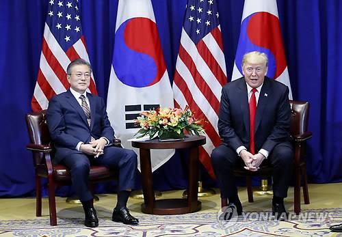"""문대통령 """"북한 비핵화 조치 촉진 위해 종전선언 필요"""""""