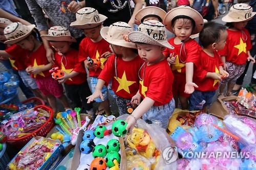 아시아의 추석 각양각색…베트남에선 '어린이날'