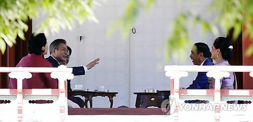 대통령 주최 국빈 환영식 처음 열린 창덕궁