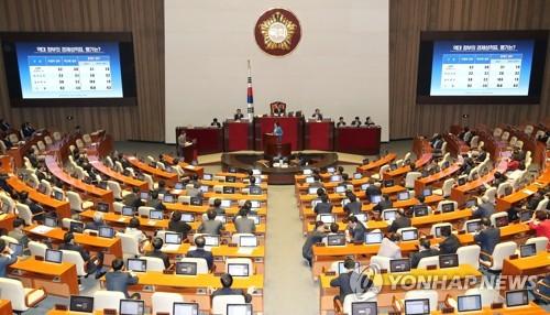 내달 1일 대정부질문 재개… 여야, 경제정책·평양선언 공방 예고