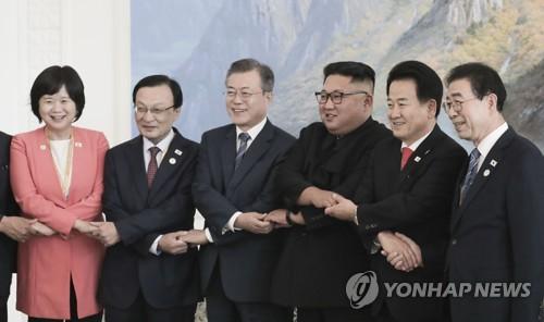 """박원순 """"대동강 수질개선 협력… 北에 남북시도지사회담 제안"""""""