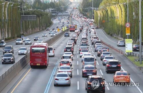 광주·목포 ↔ 서울 고속도로, 자정까지 정체 전망