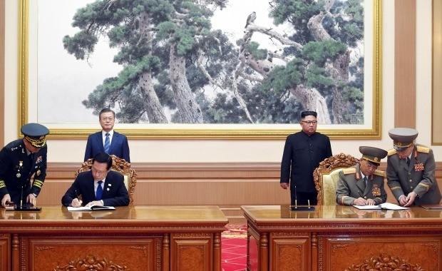 남북 군사분야 합의 (사진=연합뉴스)