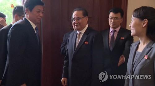 """방북 中리잔수, 김영남 면담… """"친선관계 변함없이 강화 발전"""""""