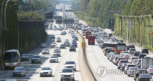 '정오 출발' 부산→서울 7시간…귀경 정체 오후 4∼5시 절정