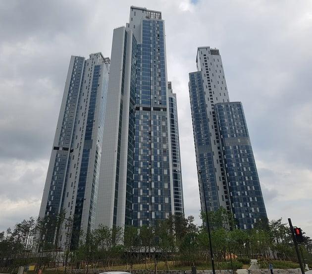 서울 강북에서 매매가격과 전세가격이 가장 높은 성수동1가 '트리마제'. 전형진 기자
