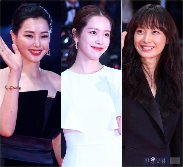 [HK영상] 이하늬-한지민-이나영, '부산국제영화제를 화려하게 빛낸 여배우들'