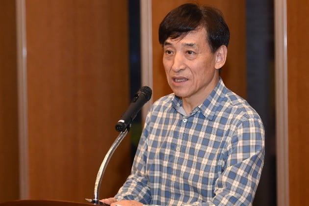 이주열 한국은행 총재가 5일 인천 한국은행 인재개발원에서 열린 출입기자단 워크숍에서 모두발언을 하고 있다.(사진=한국은행 제공)