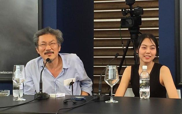 홍상수, 김민희/사진=영화 '지금은 맞고 그땐 틀리다' 프로모션