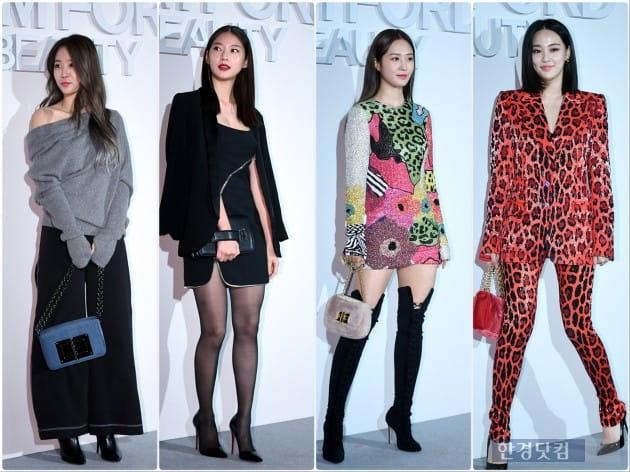 [HK영상] 소유-공승연-유리-이주연, '갈수록 파격 난해해지는 패션'