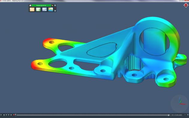 한국엠에스씨소프트웨어 3D프린팅 시뮬레이션 이미지