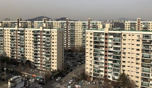 서울 압구정동 현대1·2차 아파트. 한경DB