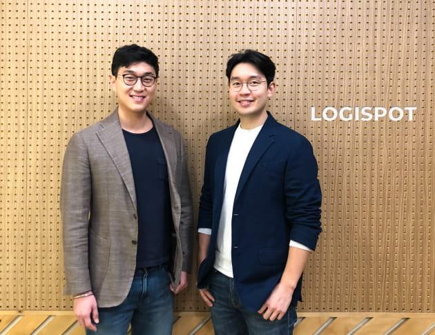 로지스팟을 함께 이끌고 있는 박준규 대표와 박재용 대표.