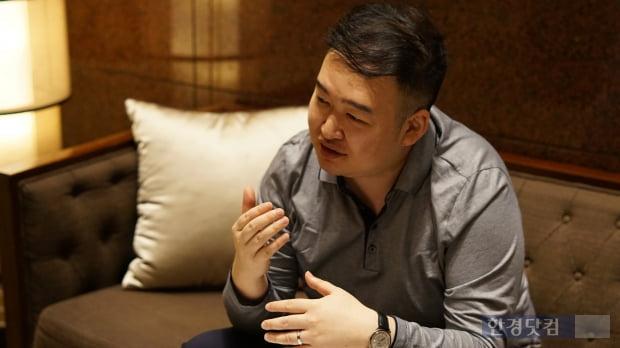 한경닷컴과 인터뷰하는 리우 하이 비고고 설립자(사진=김산하 기자)