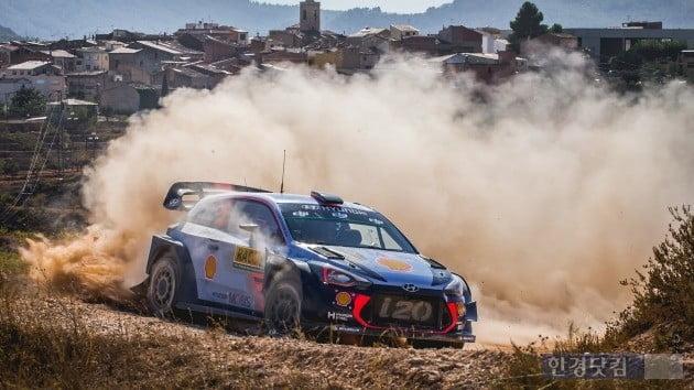 2018 WRC에 출전하고 있는 현대자동차 랠리카 i20. (사진=WRC 홈페이지)