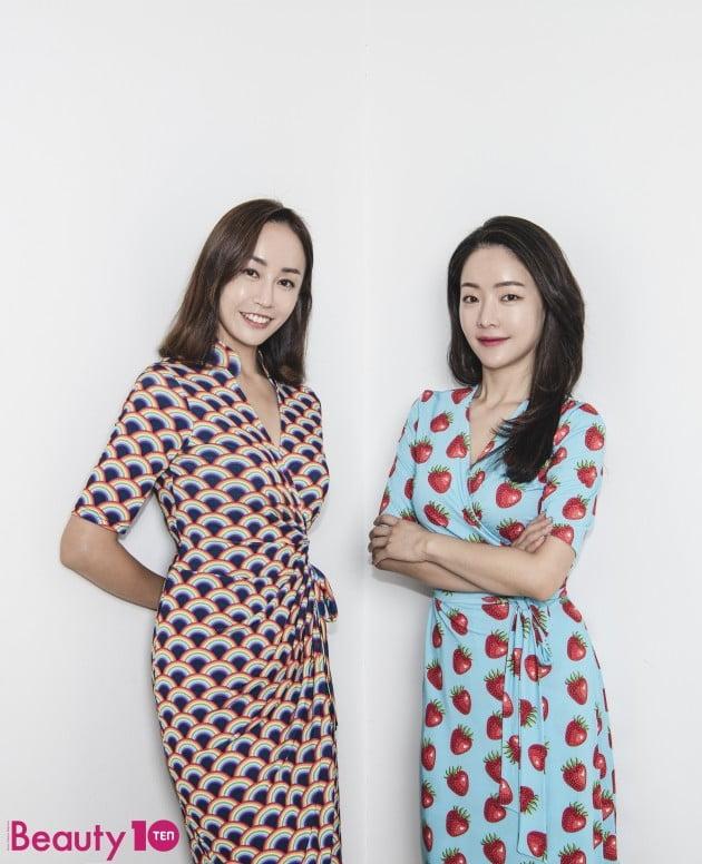 랭앤루 디자이너(왼쪽부터 변혜정, 박민선) / 사진=이승현 한경텐아시아 기자